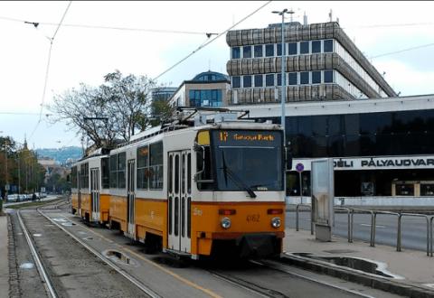 Villamospálya javítása miatt november 15-től változik a 17-es, a 61-es és az 59-es villamos közlekedése